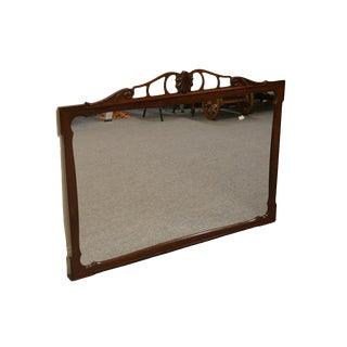 Rway Furniture Traditional Style Mahogany Dresser / Wall Mirror For Sale