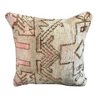 Handwoven Turkish Organic Wool Pillow Case For Sale