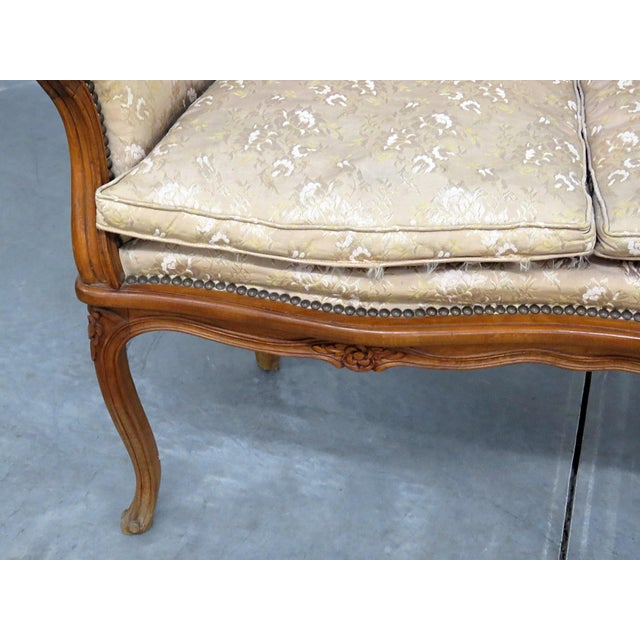 Louis XV Antique Louis XV Style Settee For Sale - Image 3 of 10