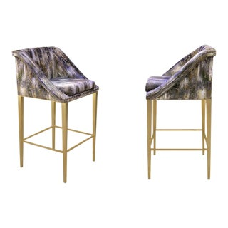 Geisha Bar Stool From Covet Paris For Sale