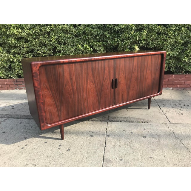 1960s Dyrlund Mid-Century Rosewood Credenza For Sale - Image 5 of 11