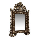 Image of Mother of Pearl Inlay Mirror For Sale