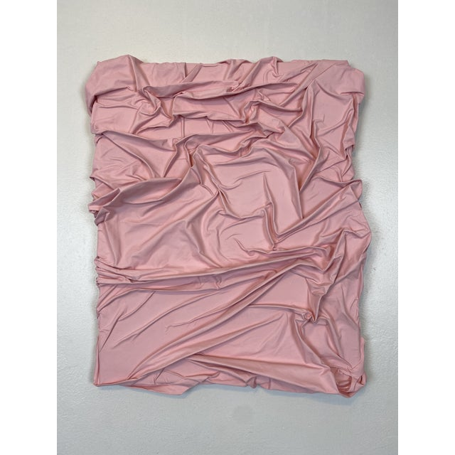 Light Pink Contemporary Minimalist Light Pink Abstract Textural Painting by Jordan Samuels For Sale - Image 8 of 11