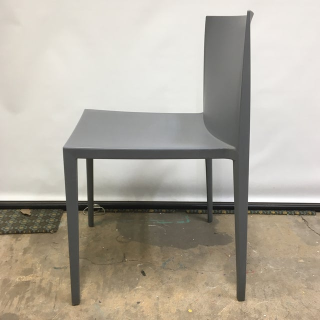 Modernistic Cazzaniga Stackable Chairs - Set of 6 For Sale In Washington DC - Image 6 of 13