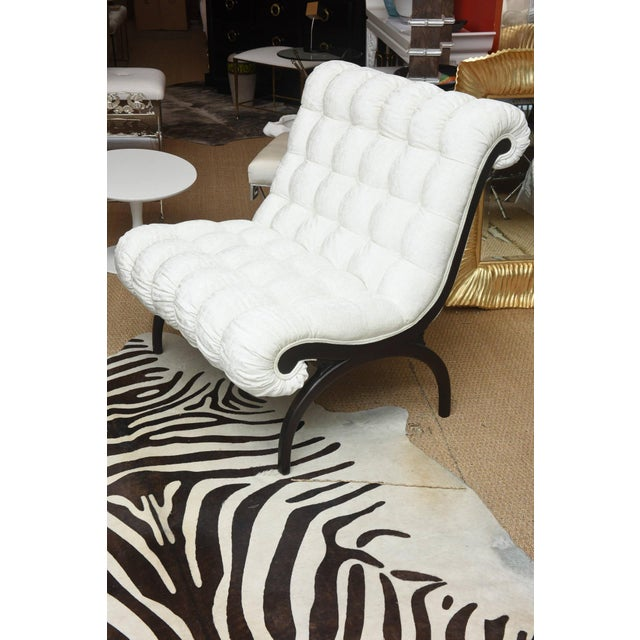 1960s Pair of Vintage Grosfeld House Hollywood Regency Lounge Chairs For Sale - Image 5 of 10