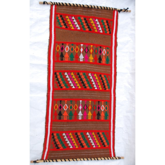 Mid Century Modern Multicolored Tapesty - Image 2 of 7