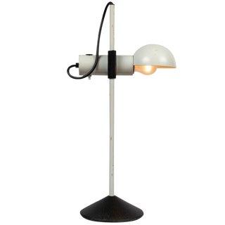 1980s Italian Barbieri E Marianelli for Tronconi White Table Lamp For Sale