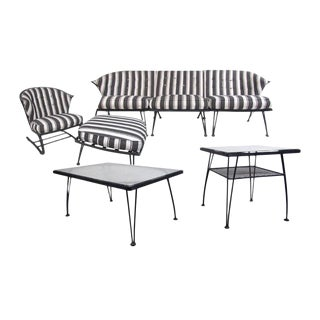 Mid-Century Patio Set by Russell Woodard