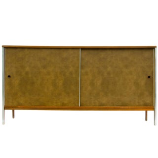 Paul McCobb Linear Group for Calvin Walnut Credenza
