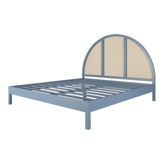 Eva Bed - King - Summer Mist Blue For Sale