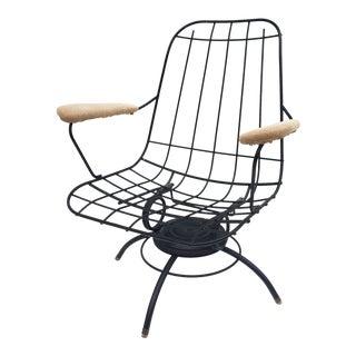 Vintage Homecrest Swivel Lounge Chair