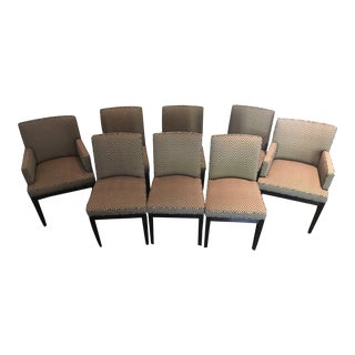 Modern A. Rudin Dining Chairs - Set of 8 For Sale
