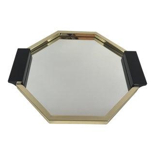 Ralph Lauren Home Barnet Serving Tray Brass/Gold Mirrored Tray