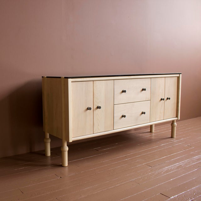 Contemporary Mae Credenza and Sideboard For Sale - Image 3 of 10