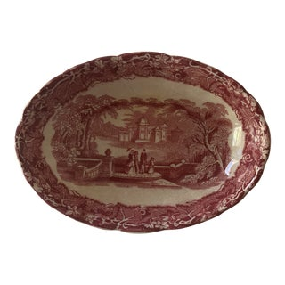 Masons Ironstone Transferware Soap Dish For Sale