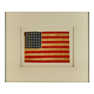 Antique 36 Star Flag - Circa 1864 For Sale