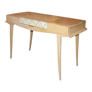 Rare Art Deco Vanity by Maxime Old For Sale