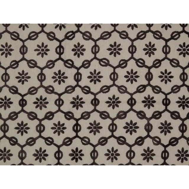 Traditional Stark Studio Rugs Traditional New Oriental Tibetan Wool Rug - 8′ × 10′ For Sale - Image 3 of 3