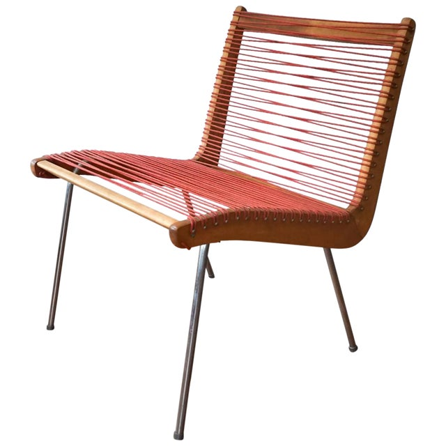 String Chair by Robert J Ellenberger for Calfab Good Design, 1950s For Sale