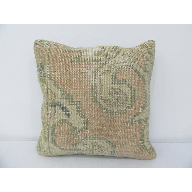 Vintage Turkish Decorative Pillow Cover For Sale - Image 4 of 4