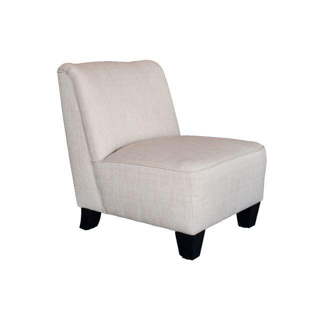 Hiatt Armless Cream Chair - Image 1 of 4