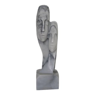 Postmodern Marble Figurative Sculpture For Sale