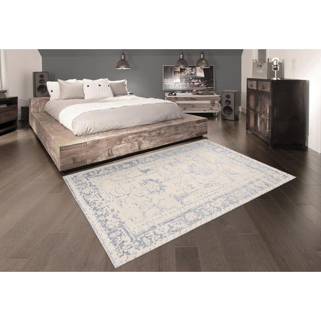 2010s Pasargad Silk & Wool Fusion Rug - 9′ × 12′ For Sale - Image 5 of 5