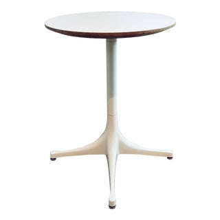 Herman Miller George Nelson Pedestal Side Table Mid Century Modern Eames For Sale