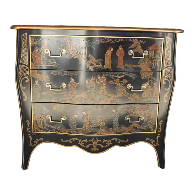 Drexel Et Cetera Chinoiserie Chest of Drawers For Sale