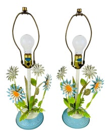 Image of Newly Made Boho Chic Table Lamps
