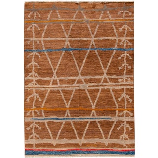"Apadana - Modern Moroccan Rug- 5'2"" X 7'10"" For Sale"