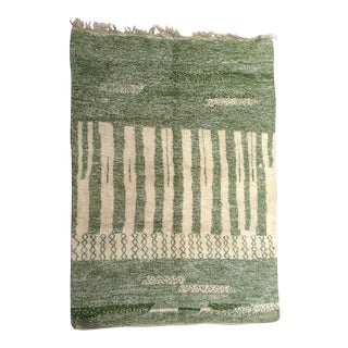 1980s Beni Ourain Rug- 8′3″ × 11′7″ For Sale