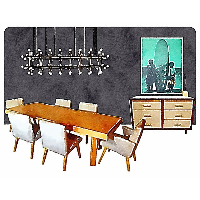 Dining Room by Martha Angus For Sale
