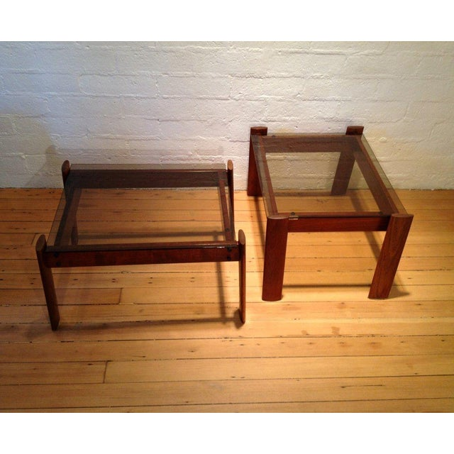 Contemporary Percival Lafer Side Tables - A Pair For Sale - Image 3 of 4