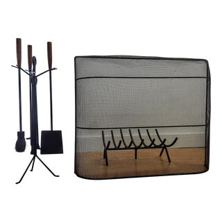 George Nelson Fireplace Tool Set For Sale