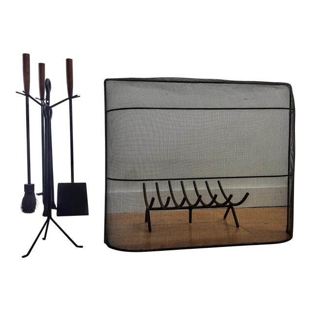 Image of George Nelson Fireplace Tool Set
