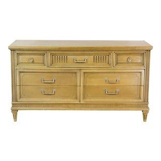 Mid Century Walnut Dresser, 7 Drawers Dresser, Walnut Dresser For Sale