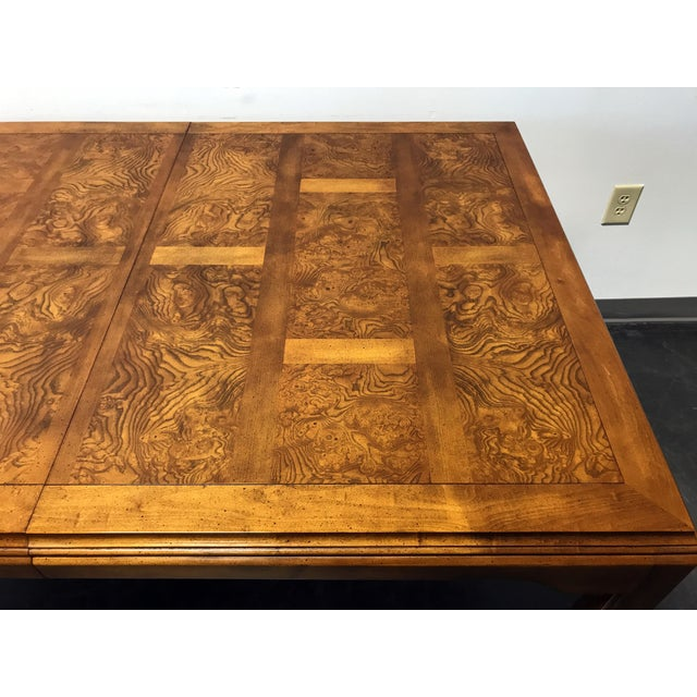 CENTURY Chin Hua by Raymond K Sobota Asian Chinoiserie Dining Table For Sale In Charlotte - Image 6 of 11