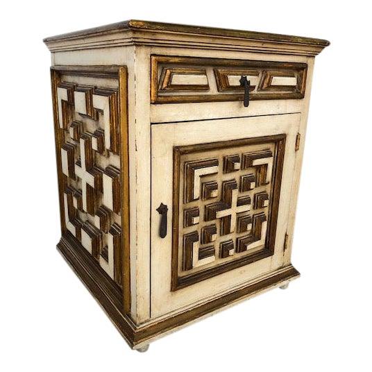 Vintage Neoclassical Regency Table For Sale