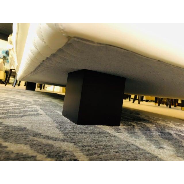 21st Century C&b Italia Gurian White Leather Italian Sofa For Sale - Image 11 of 13