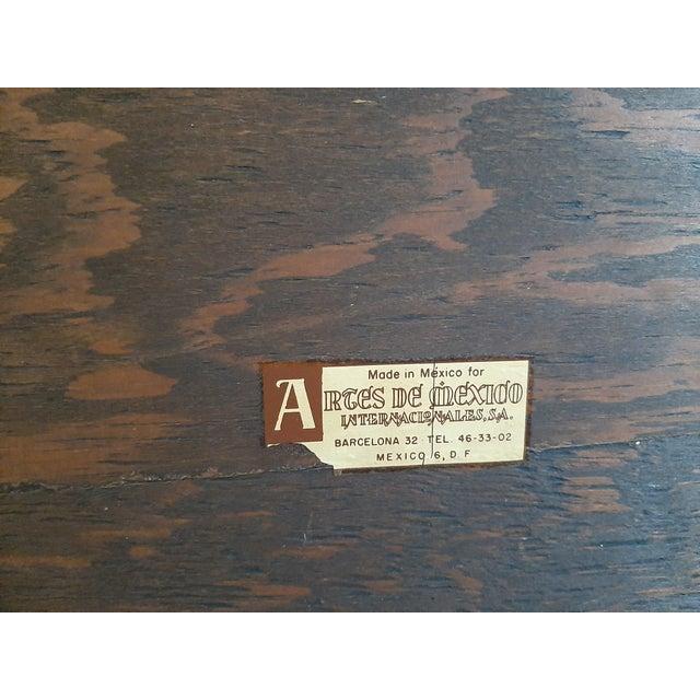 Brown Vintage Artes De Mexico Sideboard For Sale - Image 8 of 10