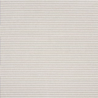 Schumacher Boucle Stripe Indoor/Outdoor Fabric in Natural For Sale