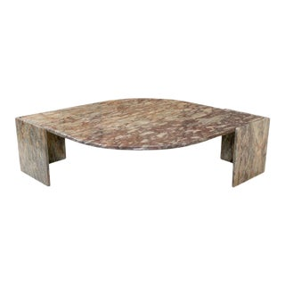 1970s Marble Coffee Table For Sale