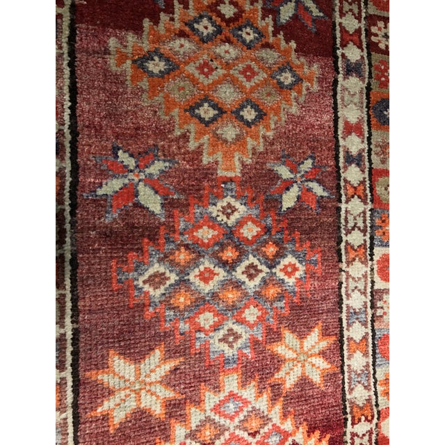 "Bellwether Rugs Vintage Turkish Oushak Runner - 2'9"" X 11'4"" - Image 8 of 11"