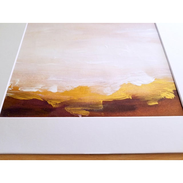Original Abstract Landscape Painting - Image 3 of 4