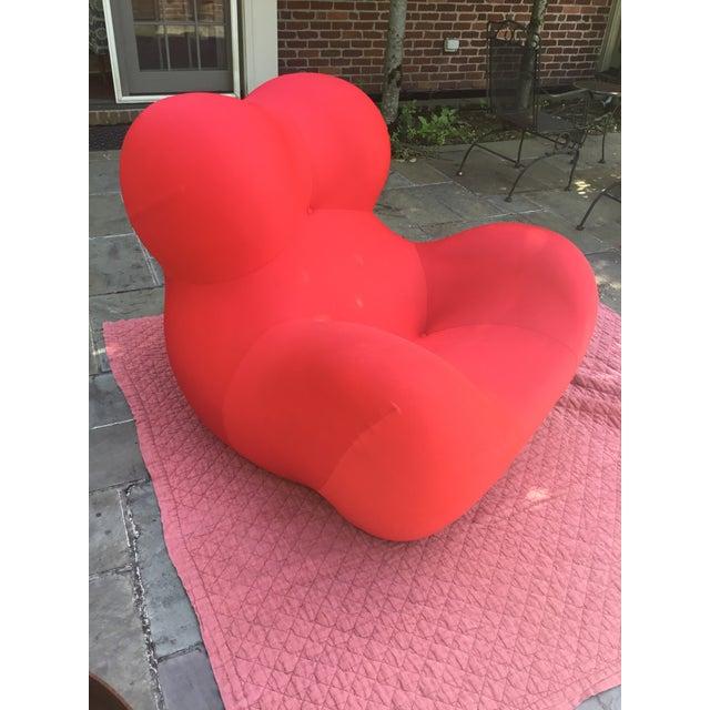 B&b Italia Gaetano Pesce Chairs & Ottoman - Set of 3 - Image 8 of 13