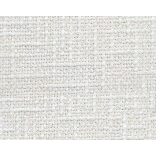 Hinson for the House of Scalamandre Rivoli Chenille Fabric in White For Sale
