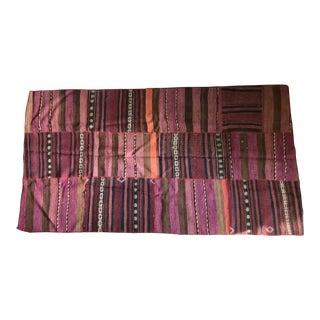 Turkish Patchwork Kilim Wool Rug - 3′3″ × 6′