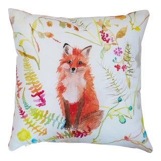Betsy Olmsted Fox Pillow For Sale
