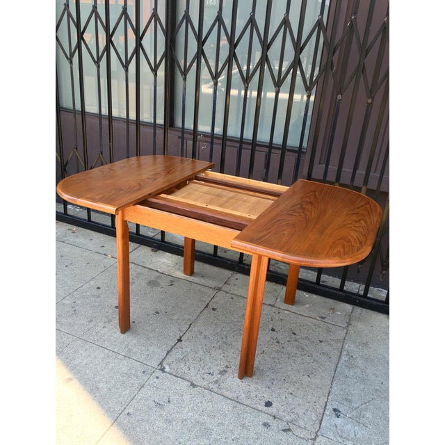 Dscan Expanding Teak Table - Image 7 of 11